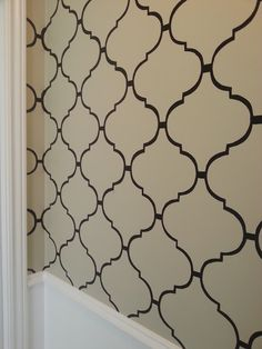 Live From B5: DIY Moroccan-Style Wall Stencil