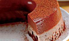 › MdeMulher › Culinária › Receitas Pudim chocolícia Flan, Mousse, Sweet Life, Cheesecakes, Just Desserts, Vanilla Cake, Tiramisu, Banana Bread, Sweets