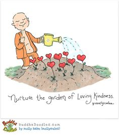 Volunteers nuture the garden of loving kindness If you know of such volunteers nominate them for the iVolunteer Awards: http://www.ivolunteer.in/ivolunteer-awards/nominate.html Buddha Doodle by @Mollycules