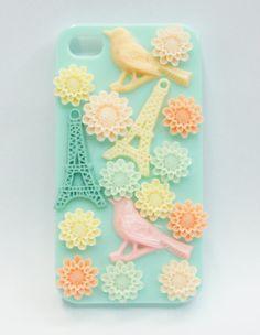 Paris birds phone case 8,00,-