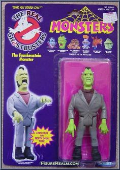 Kenner The Real Ghostbusters Frankenstein Monster 1986 Ghostbusters Toys, The Real Ghostbusters, Best 90s Cartoons, Retro Cartoons, Retro Toys, Vintage Toys, Sweet Memories, Childhood Memories, The Modern Prometheus