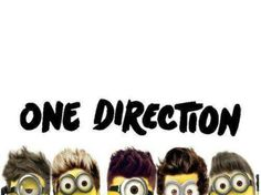 One Direction minon version