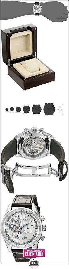 ZENITH abierto traseros para tener acceso a de alimentación CHRONOMASTER 03,2080,4021/01, c494 reloj de pulsera para hombre  ✿ Relojes para hombre - (Lujo) ✿ ▬► Ver oferta: https://comprar.io/goto/B005GUWPVQ