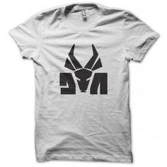 Die Antwoord shirt futuristic White and Black Logo