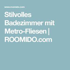 Stilvolles Badezimmer Mit Metro Fliesen | ROOMIDO.com