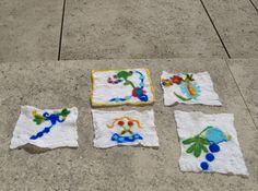 Lãs e sabão no Museu Machado de Castro - Dia 1, primeiros trabalhos