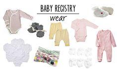 Baby registry essentials: wear