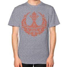 Rebel Flourish Unisex T-Shirt (on man)