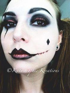 Harley Quinn Inspired https://www.makeupbee.com/look.php?look_id=88456