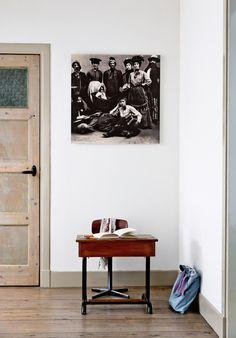 Original school desk and chair from Antwerp | Styling Kim van Rossenberg | Photographer Ernie Enkelaar | vtwonen June 2015