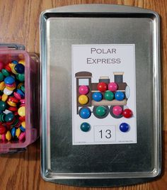 I have added Polar Express Magnet Counting cards to 1 - 2 - 3 Learn Curriculum. Under the Polar Express link. :) Numbers 1 - 20