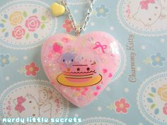 Fairy Kei Pastel Sugarbunnies Necklace by NerdyLittleSecrets, $15.00