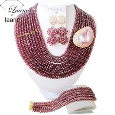 Find More Jewelry Sets Information about Dark Purple African Beads Jewelry Set For Nigerian Wedding Party AL011,High Quality sets,China set top hd receiver Suppliers, Cheap set scarf from laanc african beads Store on Aliexpress.com