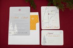 Holiday Wedding Invitation