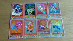 moshi monsters mash up shiny cards