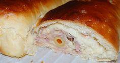 Galuppos Bakery and Coffee ( maleta y peineta): Pan de jamón , recordatorio concurso y premios