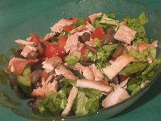 Salata cu Pui si Ciuperci Guacamole, Cobb Salad, Mexican, Ethnic Recipes, Food, Salads, Meals, Yemek, Eten