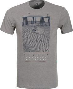 Vissla Pier T-Shirt - grey heather - Free Shipping