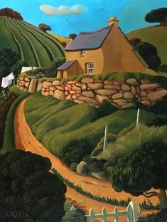 'bove Town' by Jo March, Image Size 490 x 369mm Giclée  Print [ed. size 150, signed] (Print Only £150)