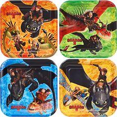 "How to Train Your Dragon 7"" Cake Plates (8 Pack) Hallmark http://www.amazon.com/dp/B00JV69FDW/ref=cm_sw_r_pi_dp_IyT8tb0N25ZMD"