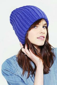 be4d32abd24 Cozy Rib-Knit Slouchy Beanie Mens Beanie Hats