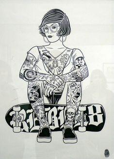 Mike Giant art . . .