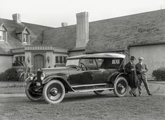 "1919. ""Paige touring car at San Francisco Golf Club"