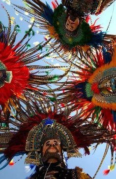 Danzantes de carnaval, en Tlaxcala.