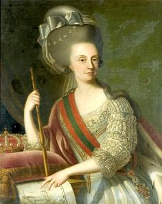 Queen Maria I of the United Kingdom of Portugal, Brazil and the Algarves - died in Rio de Janeiro 1816