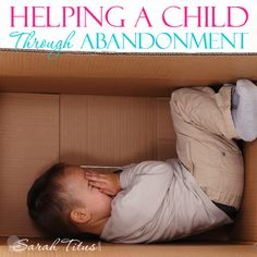 After my husband of 14 years abandoned us, we ended up in a homeless shelter. It was a rough and scary time, but we all came out on top. We're actually better off now in all capacities of the word than when he was still around. Here's our journey and how you can help a child through a loss or abandonment