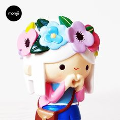 A festival of peace blossoms right here, right now. Meet Blossom. Limited Edition - 1000 pieces worldwide. She likes fairy bread