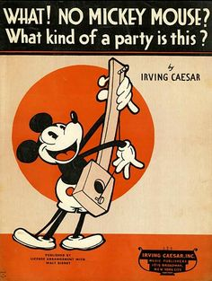 What! No Mickey Mouse? What kind of a party is this?
