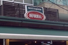 I ♥ Niterói: Botequim Informal