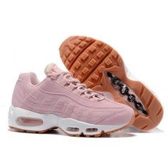 newest d90fd 2f511 Womens Nike Air Max 95 Pink White on We Heart It