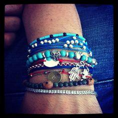 BiBu Bracelets most of them!