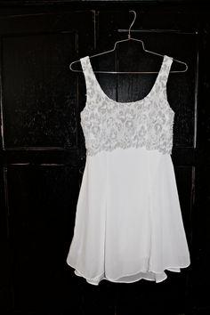 Vintage white dress.