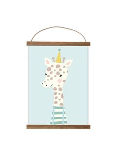 """Kunstdruck / Bild """"kleine Giraffe""""  von Mimirella auf DaWanda.com"""
