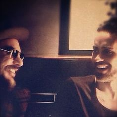 Shannon Leto with brother Jared Leto. This picture makes me happy.