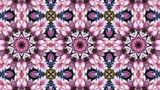 New stock video at Fotolia: Motion background with pink floral abstract theme.