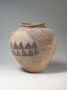Egypt - Jar with Motifs of Plants and Water Period: Late Naqada II Date: ca. 3450–3300 BC