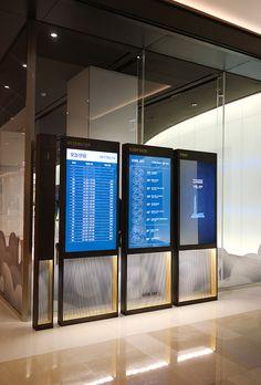 tower – Seoul sky observation deck Lotte world tower – Seoul sky observation deck – Kukkwang plan Mall Design, Kiosk Design, Lobby Design, Signage Design, Digital Kiosk, Digital Retail, Digital Signage, Directional Signage, Wayfinding Signage