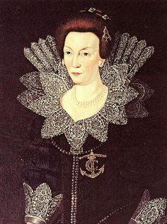 Queen Christina (1604) of Sweden (1573-1625) Date circa 1610 Unknown Artist
