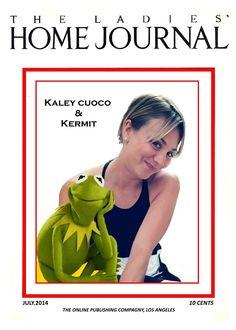 Miss Kaley & Kermit