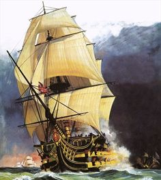 hms victory painting - Google Search