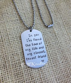 Hey, I found this really awesome Etsy listing at http://www.etsy.com/listing/126211791/hand-stamped-stainless-steel-tag-love