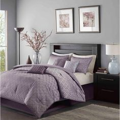 Madison Park Morris 7-piece Polyester Comforter Set - Free Shipping Today - Overstock.com - 16328474 - Mobile