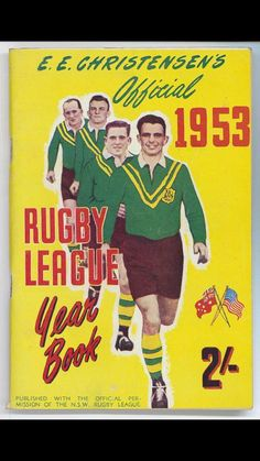 1953 _ Rugby League