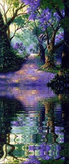 Water Animations - Oceans to Angels - Image 21 - Tranquil Waters - Fantasy Art