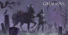 Grim Soul: Dark Fantasy Survival Hack (MOD,Unlimited Money) Apk - An Unbelievable Android Action Puzzle Makeup A great survival style New Soul, Dangerous Animals, Brothers In Arms, Medieval World, Medieval Weapons, Craft Online, Mysterious Places, Iron Throne, Real Hero