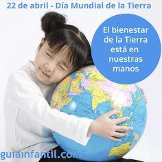 ¿Cómo podemos concienciar a los niños sobre la necesidad de cuidar del planeta? http://www.guiainfantil.com/1395/22-de-abril-dia-mundial-de-la-tierra.html